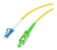 Cordon fibre monomode LC/UPC 1m SC/APC simplex