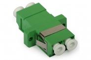 Adaptateur fibre monomode LC/APC vers LC/APC duplex