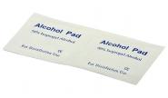 Lingettes pré-imprégnées d'alcool isopropylique