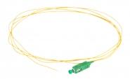 Pigtail fibre monomode G657A1 à souder SC/APC simplex