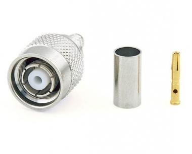 Connecteur à sertir RP-TNC-Plug pour RG-58/CNT-195