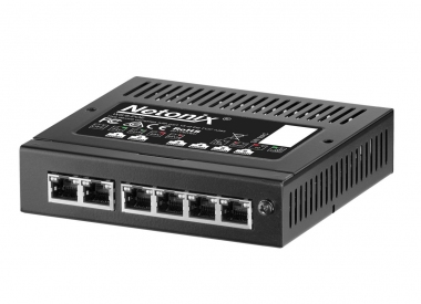 Switch PoE administrable 6 ports Netonix WS-6-Mini