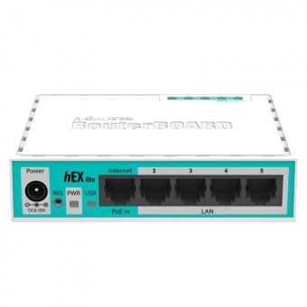 Routeur MikroTik hEX Lite RB750r2