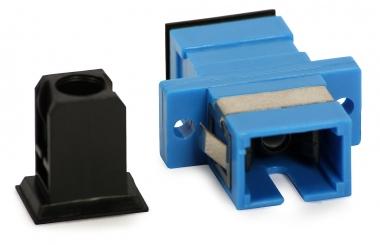 Adaptateur fibre monomode SC/UPC vers SC/UPC simplex