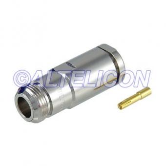 Connecteur à presse-étoupe N-Femelle pour CNT-400/LMR-400