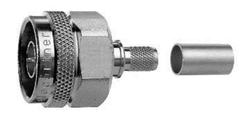 Connecteur à sertir N-Mâle pour CNT-400/LMR-400 Telegärtner J01020A0127
