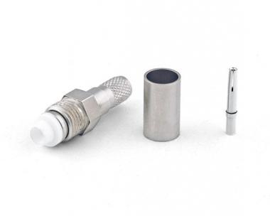 Connecteur à sertir FME-Femelle pour H-155 / CNT-240 Telegärtner J01701A0003