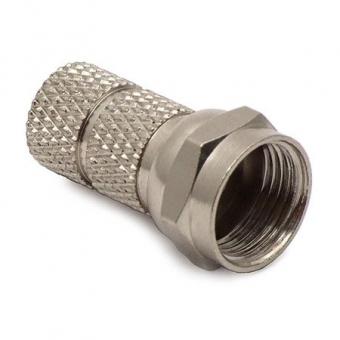 Connecteur F-Mâle pour coax 6,8 mm (le lot de 10)