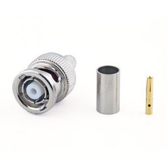 Connecteur à sertir RP-BNC-Plug pour H-155/CNT-240