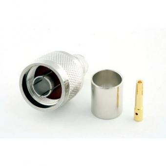 Connecteur à sertir RP-N-Plug pour CNT-400/LMR-400