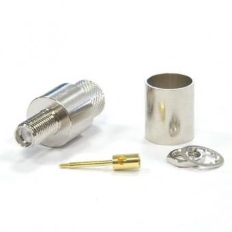 Connecteur à sertir RP-SMA-Jack pour CNT-400/LMR-400