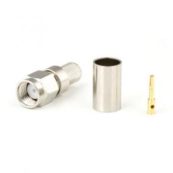 Connecteur à sertir RP-SMA-Plug pour H-155/CNT-240
