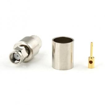 Connecteur à sertir RP-SMA-Plug pour CNT-400/LMR-400