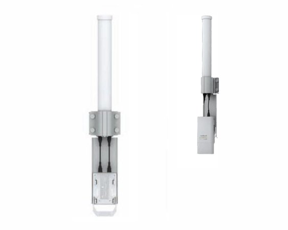 Antenne Omnidirectionnelle 2.4 GHz 13dBi double polarité Ubiquiti AirMax AMO-2G13