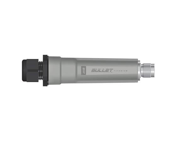 Point d'accès/CPE extérieur Ubiquiti AirMax Bullet M5-HP Titanium