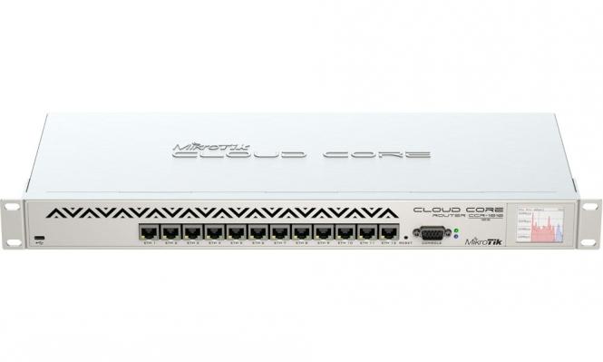 Routeur central hautes performances MikroTik Cloud Core CCR1016-12G