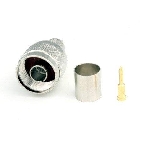 Connecteur à sertir N-Mâle pour CNT-400/LMR-400