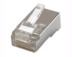 Connecteur RJ45 blindé Cat 5e (lot de 100)
