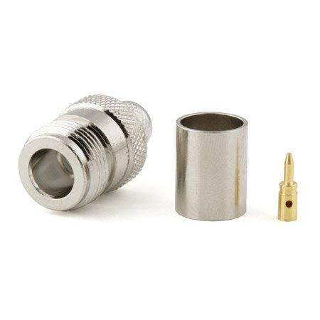 Connecteur à sertir RP-N-Jack pour CNT-400/LMR-400