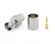 Connecteur à sertir TNC-Femelle pour CNT-400/LMR-400