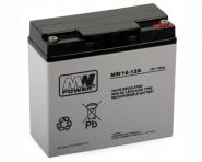 Batterie 12V 18Ah pour alimentation de secours