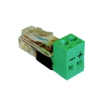 Extracteur/Injecteur PoE RJ45 vers bornier Tycon POE-PowerTap