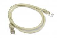 Cordon réseau blindé Cat. 6a SSTP gris (1 mètre)