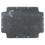 Plaque de fond alu pour boîte Gewiss GW44210 380x300