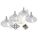 Fixation à ventouses pour antennes L-Com