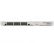 Switch réseau 24 ports 10/100/1000 + 1 port SFP MikroTik CRS125-24G-1S-RM