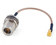 Pigtail MCX vers N-Femelle 12cm en RG-316 Ø2.6mm
