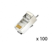 Connecteur RJ45 blindé Netonix (lot de 100)