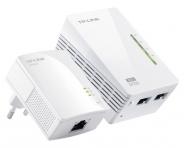 Kit CPL 200 MBits avec AP CPL WiFi N 300 TL-WPA2220KIT (Déstockage)