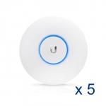 Point d'accès intérieur Ubiquiti UniFi UAP-AC-LITE-5 802.11ac (Lot de 5 sans injecteurs PoE)