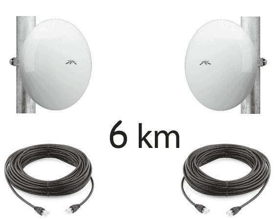 Pont Réseau Très Haut Débit GHz Longue Portée Jusquà Km - Antenne wifi usb longue portée