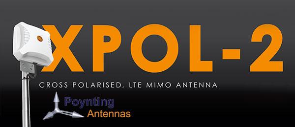 Antenne Panneau GSM/3G/4G 6/9 dBi Poynting A-XPOL-0002-V2