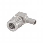 Connecteur à sertir QMA-Mâle coudé pour RG-58/CNT-195 Rosenberger 28S207-307N5