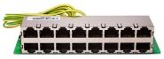 Parafoudre Ethernet RJ45 8 ports (Sans boitier)