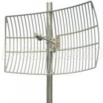 Antenne Directionnelle 4.9-5.8 GHz 27 dBi L-Com HG4958-27EG
