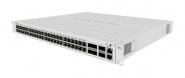 Switch réseau 48 ports PoE Gigabit Ethernet + 4 ports SFP+ & 2 ports QSFP+ 40 Gbps MikroTik CRS354-48P-4S+2Q+RM