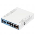 Routeur/Point d'accès 2.4/5 GHz MikroTik hAP ac RB962UiGS-5HacT2HnT