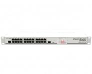 Switch réseau 24 ports 10/100/1000 + 1 port SFP MikroTik CSS326-24G-2S+RM