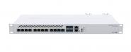 Switch réseau 10 ports 10 Gbps Ethernet + 4 ports SFP+ MikroTik CRS312-4C+8XG-RM
