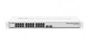 Switch réseau 24 ports 10/100/1000 + 2 ports SFP+ MikroTik CSS326-24G-2S+RM