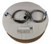 Cordon fibre monomode PE G657A2 2xLC/UPC vers 2xLC/UPC duplex 150 m