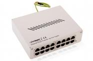 Parafoudre Ethernet RJ45 8 ports avec injecteur PoE Passif Gigabit