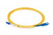 Cordon fibre monomode G.652.D SC/UPC 2m LC/UPC simplex