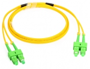 Cordon fibre monomode SC/APC 1.5m SC/APC duplex