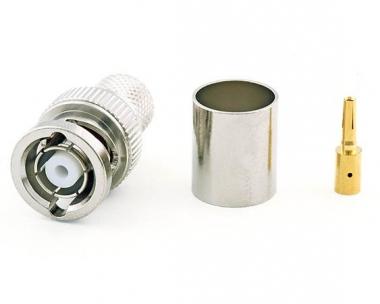 Connecteur à sertir RP-BNC-Mâle (Plug) pour CNT-400/LMR-400