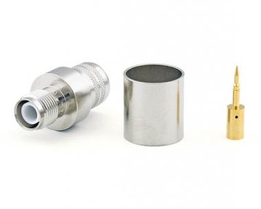 Connecteur à sertir RP-TNC-Jack pour CNT-600/LMR-600